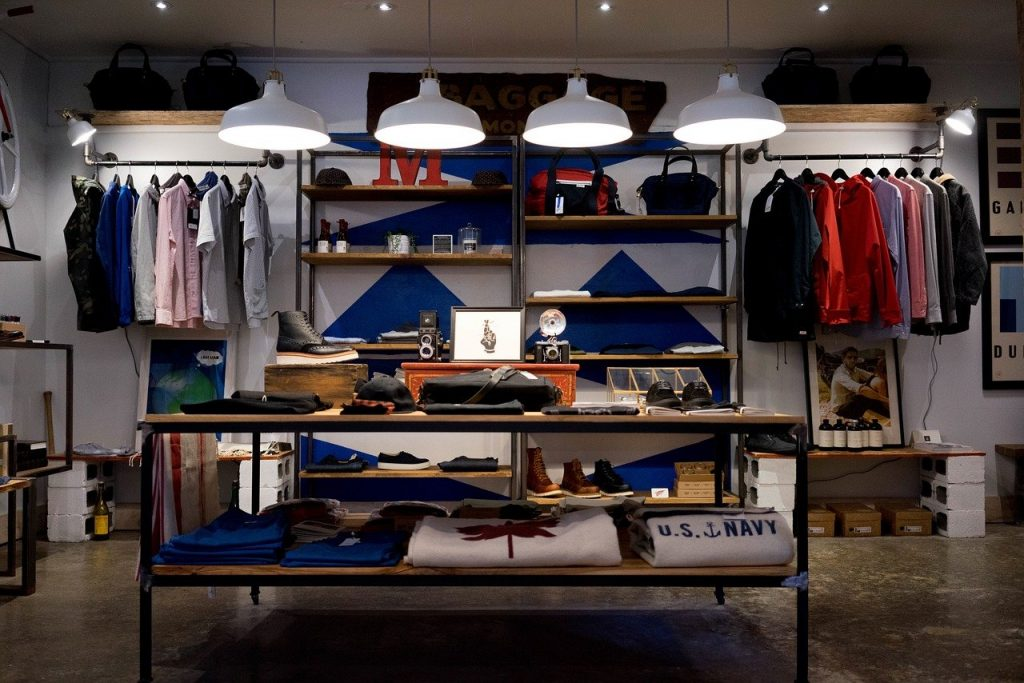 Five Different Types of Store Fixtures